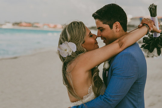 Destination Wedding Cancún – Rochelle e Alex –  México